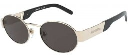 Sunglasses - Arnette - AN3081 LARS - 724/87 BRUSHED PALE GOLD // GREY