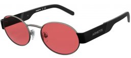 Sunglasses - Arnette - AN3081 LARS - 725/84 BRUSHED GUNMETAL // PINK