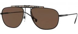 Sunglasses - Burberry - BE3121 DEAN - 100173 BLACK // BROWN