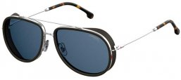 Sunglasses - Carrera - CARRERA 166/S - 010 (KU) PALLADIUM // BLUE GREY