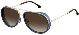 Sunglasses - Carrera - CARRERA 166/S - KY2 (HA) BLUE GOLD // BROWN GRADIENT