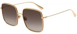Sunglasses - Dior - DIORBYDIOR3F - 000 (86) ROSE GOLD // BLACK BROWN GREEN GRADIENT ANTIREFLECTION