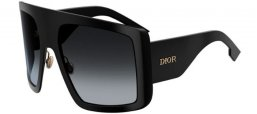 Sunglasses - Dior - DIORSOLIGHT1 - 807 (9O) BLACK // DARK GREY GRADIENT