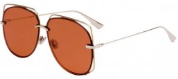 Sunglasses - Dior - DIORSTELLAIRE6 - 3YG (2M) LIGHT GOLD // BROWN ANTIREFLECTION