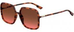Sunglasses - Dior - SOSTELLAIRE1 - 086 (86) DARK HAVANA // BLACK BROWN GREEN ANTIREFLECTION