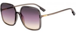 Sunglasses - Dior - SOSTELLAIRE1 - KB7 (0D) GREY // VIOLET GRADIENT ANTIREFLECTION