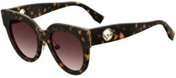 Sunglasses - Fendi - FF 0360/G/S - 086 (HA) DARK HAVANA // BROWN GRADIENT