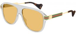 Sunglasses - Gucci - GG0587S - 003 GREY // BROWN
