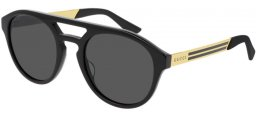 Sunglasses - Gucci - GG0689S - 001 BLACK // GREY