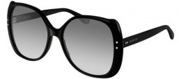 Sunglasses - Gucci - GG0472S - 001 BLACK // GREY GRADIENT