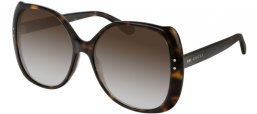 Sunglasses - Gucci - GG0472S - 002 HAVANA // BROWN GRADIENT