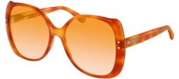 Sunglasses - Gucci - GG0472S - 003 LIGHT HAVANA // ORANGE GRADIENT