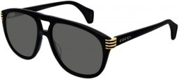 Sunglasses - Gucci - GG0525S - 001 BLACK // GREY