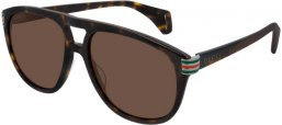Sunglasses - Gucci - GG0525S - 003 HAVANA // BROWN