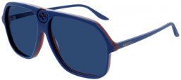 Sunglasses - Gucci - GG0734S - 002 BLUE // BLUE