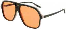 Sunglasses - Gucci - GG0734S - 003 GREEN // ORANGE