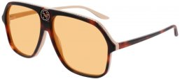 Sunglasses - Gucci - GG0734S - 005 HAVANA // ORANGE
