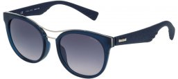 Sunglasses - Police - SPL412 SPARKLE 3 - 0956 SHINY OPALINE BLUE // GREY GRADIENT