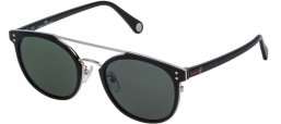 Lunettes de soleil - Carolina Herrera - SHE755 - 0Z42 SHINY BLACK // GREY GREEN
