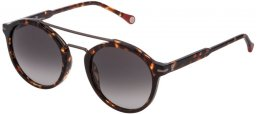 Sunglasses - Carolina Herrera - SHE807 - 0909  HAVANA HONEY // GREY GRADIENT