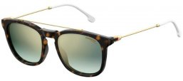 Sunglasses - Carrera - CARRERA 154/S - 086 (EZ)  DARK HAVANA // GREEN GRADIENT MIRROR