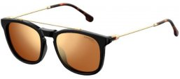 Sunglasses - Carrera - CARRERA 154/S - 807 (K1)  BLACK // GOLD MIRROR