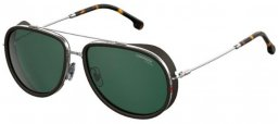 Sunglasses - Carrera - CARRERA 166/S - 6LB (UC)  RUTHENIUM // GREEN POLARIZED