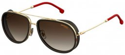 Sunglasses - Carrera - CARRERA 166/S - Y11 (HA)  GOLD RED // BROWN GRADIENT