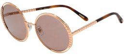 Sunglasses - Chopard - SCHC79 - 08FC  SHINY COPPER GOLD // VIOLET ANTIREFLECTION
