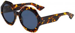 Lunettes de soleil - Dior - DIORSPIRIT1 - 086 (A9)  DARK HAVANA // BLUE GREY ANTIREFLECTION