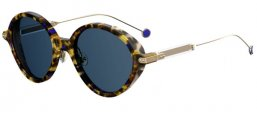 Gafas de Sol - Dior - DIORUMBRAGE - 0X4 (KU) HAVANA LIGHT GOLD // BLUE
