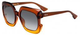 Sunglasses - Dior - DIORGAIA - 12J (9O) BROWN ORANGE // DARK GREY GRADIENT