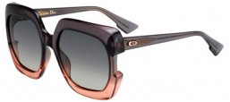 Sunglasses - Dior - DIORGAIA - 7HH (PR) GREY PINK // GREY BROWN GRADIENT