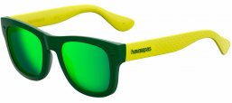Gafas de Sol - Havaianas - PARATY/M - QPN (Z9) GREEN YELLOW // GREEN MULTILAYER
