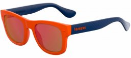 Gafas de Sol - Havaianas - PARATY/M - QPS (UZ) ORANGE BLUE // RED FLASH