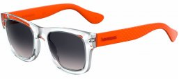 Gafas de Sol - Havaianas - PARATY/M - QSW (LS) CRYSTAL ORANGE // GREY GRADIENT