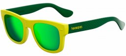 Gafas de Sol - Havaianas - PARATY/M - QSX (Z9) YELLOW GREEN // GREEN MULTILAYER