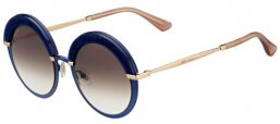 Gafas de Sol - Jimmy Choo - GOTHA/S - 3UE (JS) BLUE GOLD // BROWN GRADIENT