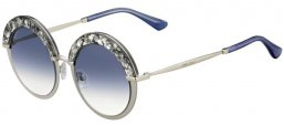 Gafas de Sol - Jimmy Choo - GOTHA/S - 5RL (KC) LIGHT METAL GOLD // AZURE GRADIENT