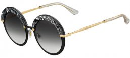 Gafas de Sol - Jimmy Choo - GOTHA/S - THP (9O) BLACK GOLD // DARK GREY GRADIENT