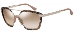 Sunglasses - Jimmy Choo - LEON/S - 35J (NQ)  PINK // BROWN SILVER MIRROR GRADIENT