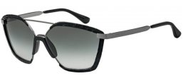 Sunglasses - Jimmy Choo - LEON/S - 807 (9O)  BLACK // DARK GREY GRADIENT