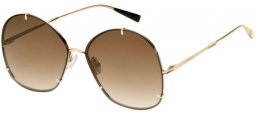 Sunglasses - MaxMara - MM HOOKS - 3YG (HA) LIGHT GOLD // BROWN GRADIENT