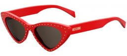 Sunglasses - Moschino - MOS006/S - C9A (IR)  RED // GREY