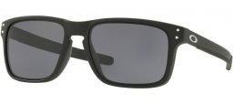 Sunglasses - Oakley - HOLBROOK MIX OO9384 - 9384-01 MATTE BLACK // GREY