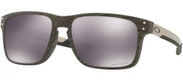 Sunglasses - Oakley - HOLBROOK MIX OO9384 - 9384-04 WOODGRAIN // PRIZM BLACK