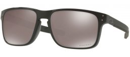 Sunglasses - Oakley - HOLBROOK MIX OO9384 - 9384-06 POLISHED BLACK // PRIZM BLACK POLARIZED