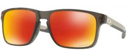 Sunglasses - Oakley - HOLBROOK MIX OO9384 - 9384-07 GREY SMOKE // PRIZM RUBY POLARIZED
