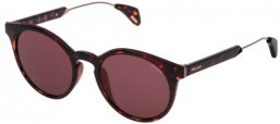 Gafas de Sol - Police - SPL620 AFFAIR 1 - 0978 DARK HAVANA // RED