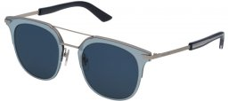 Sunglasses - Police - SPL584 HALO 4 - 0581 PALLADIUM // BLUE